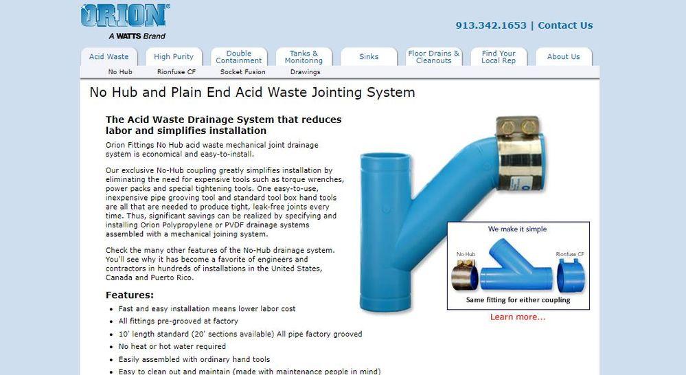 Orion Acid waste Service - Autodesk Community- Fabrication Products
