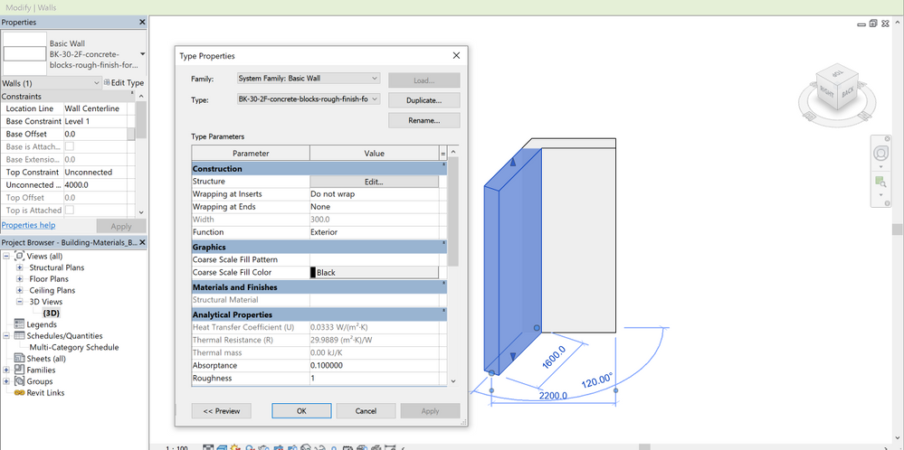 Solved: Maltese Hollow Concrete Blocks into Revit Family - Autodesk