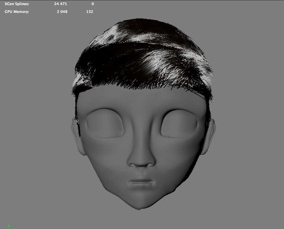 Solved: Xgen Hair not connected to Mesh - Autodesk Community