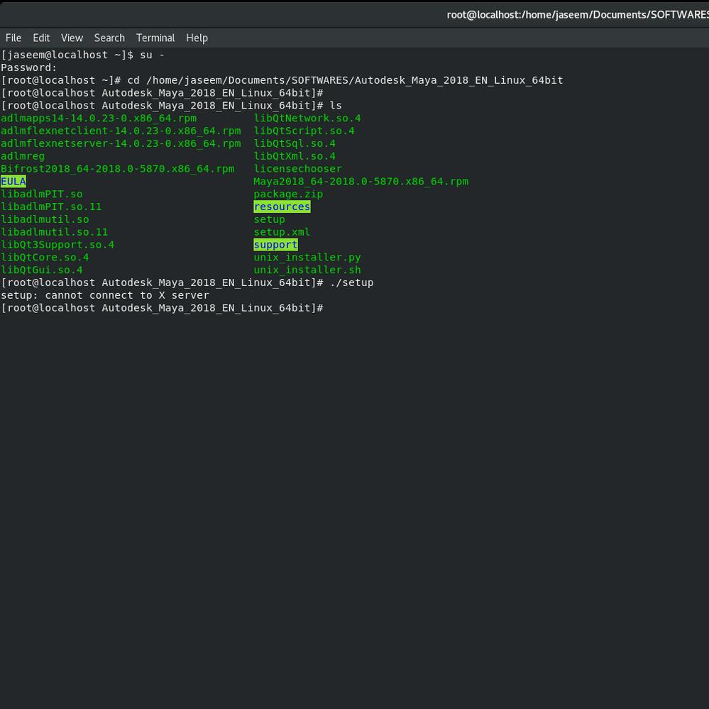 Solved: Installing Maya 2018 on Fedora - Autodesk Community