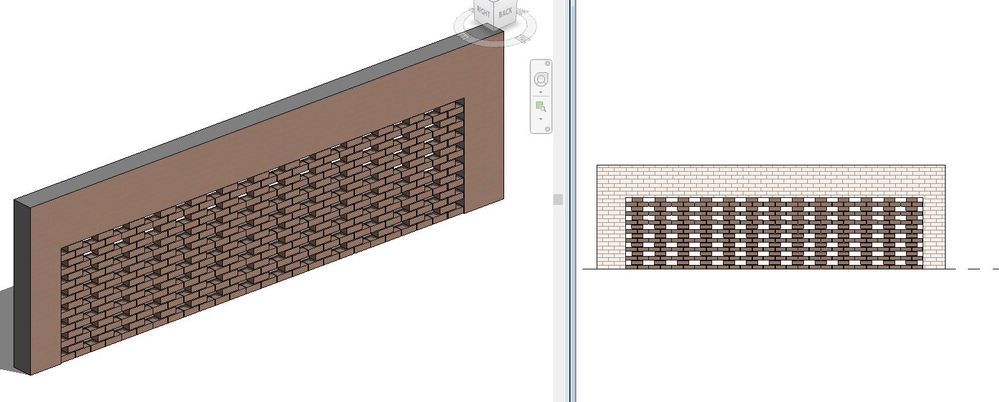 Solved perforated brick wall in revit autodesk community for Perforated brick wall
