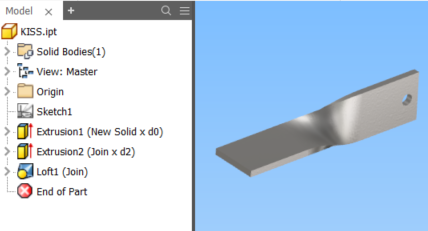 Solved How To Create A Twisted Plate Sheet Metal