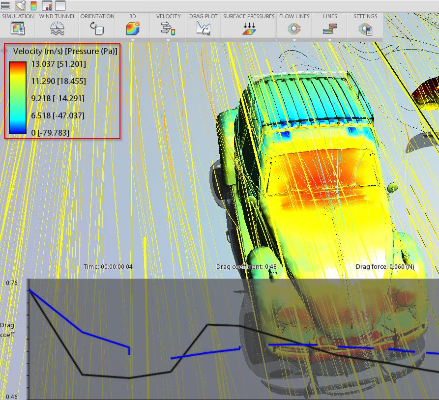 Wind pressure on toproof element - Autodesk Community- Inventor