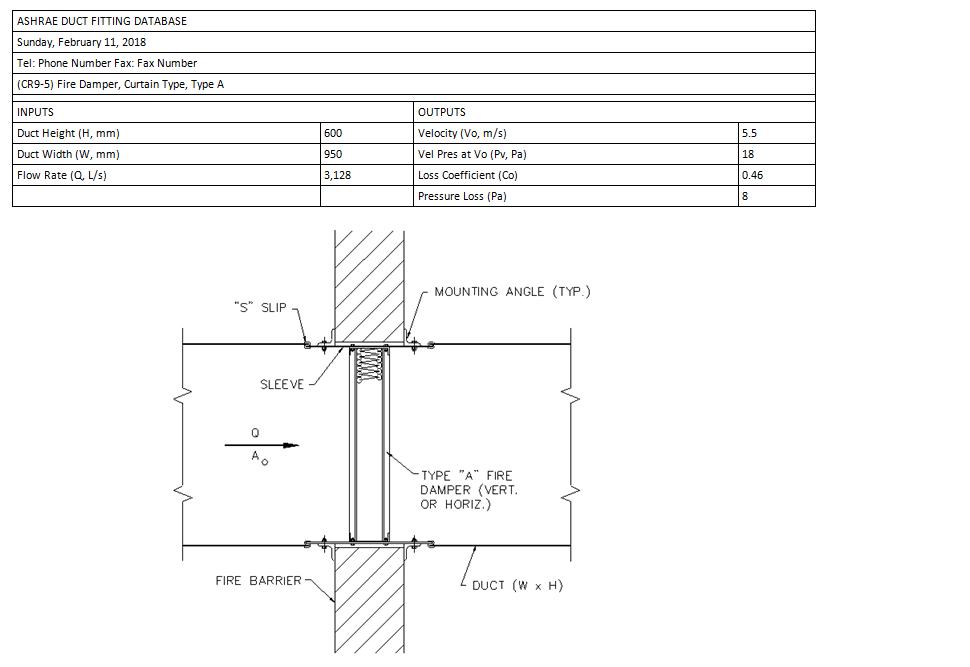 External Static pressure calculation error - Autodesk