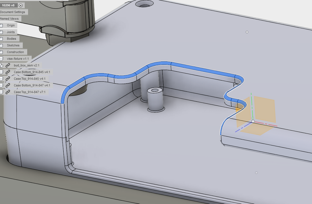 Solved: Best operation for 3D machining of fillets