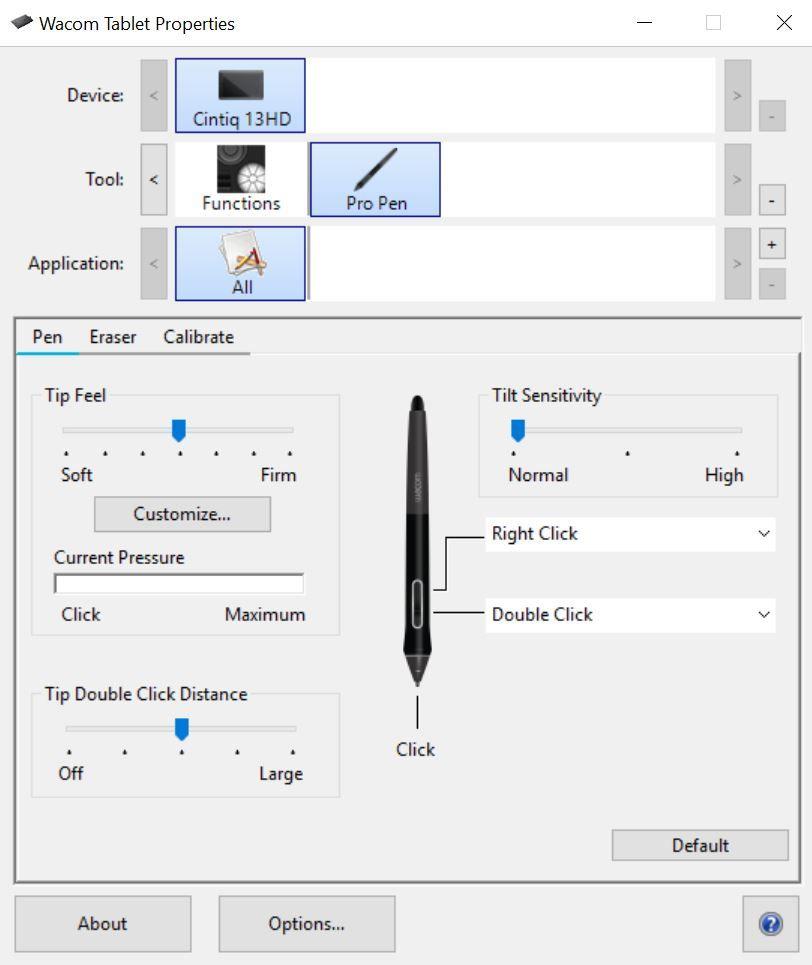 Solved: Pen sensitivity not working properly - Autodesk