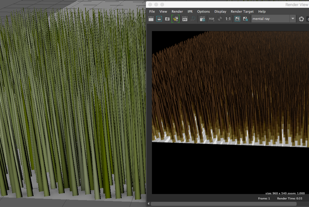 Suggestions for simple fur - Autodesk Community- Maya