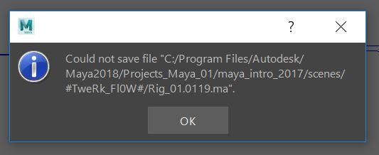 Solved: Ascii save problems 2018  - Autodesk Community- Maya