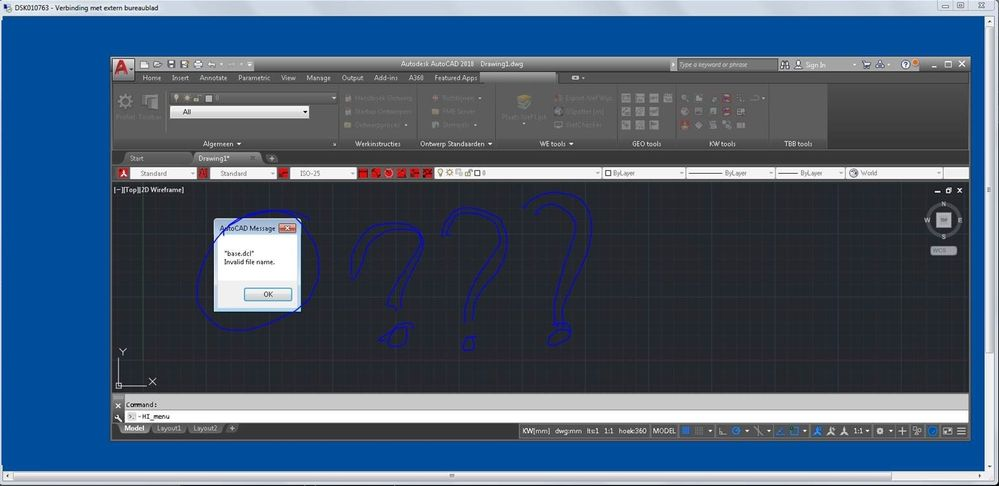 Solved: Remote desktop : error running Lisp - Autodesk Community