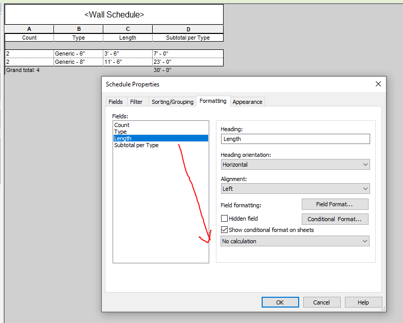 Solved: Total Length - Autodesk Community- Revit Products