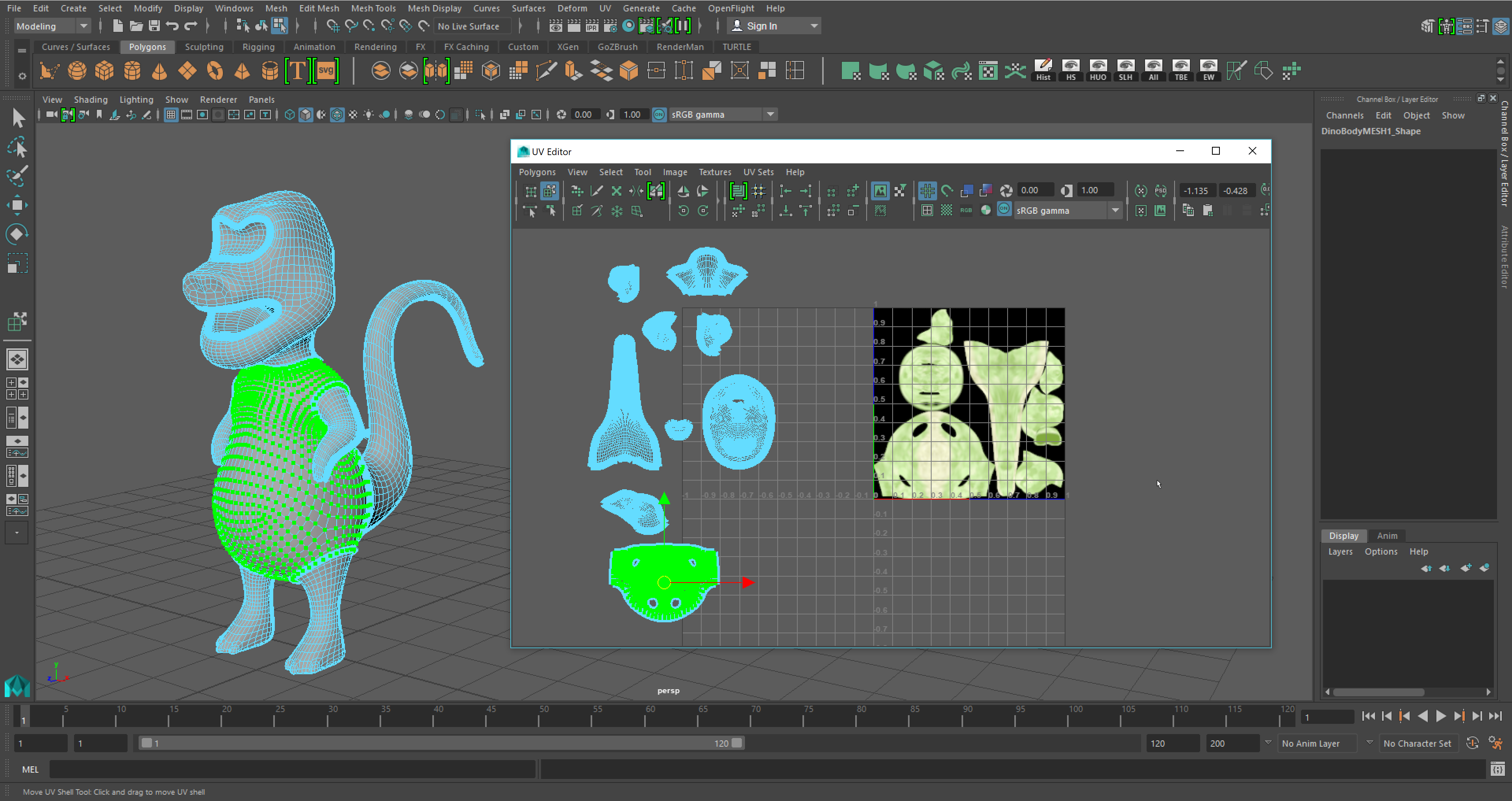 Having issues with UVs breaking when I import from ZBrush