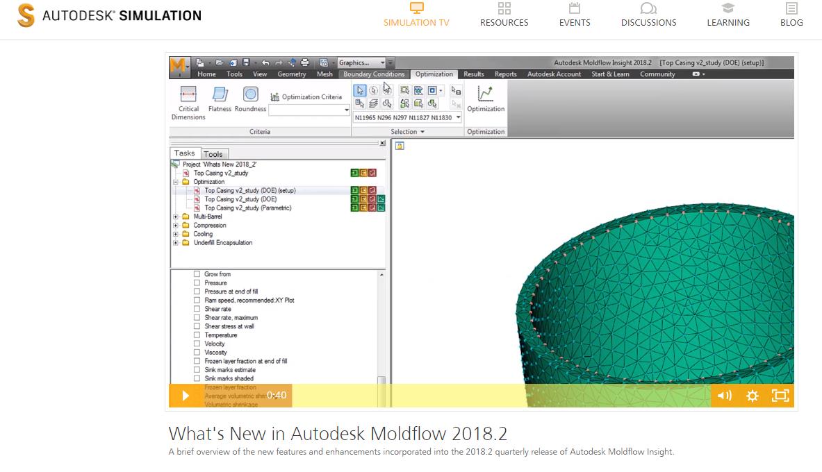 autodesk moldflow insight forum