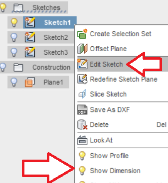 Change Dimensions of a Sketch - Autodesk Community- Fusion 360