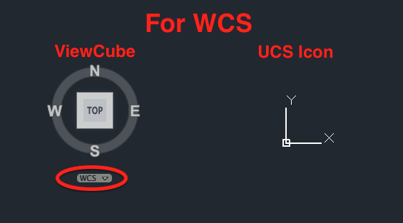 Differentiate Between Ucs And Wcs In Autocad