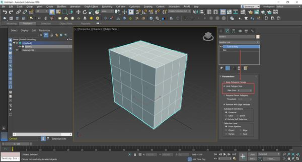 Send to Maya function creates triangulated mesh in Maya from 3ds Max
