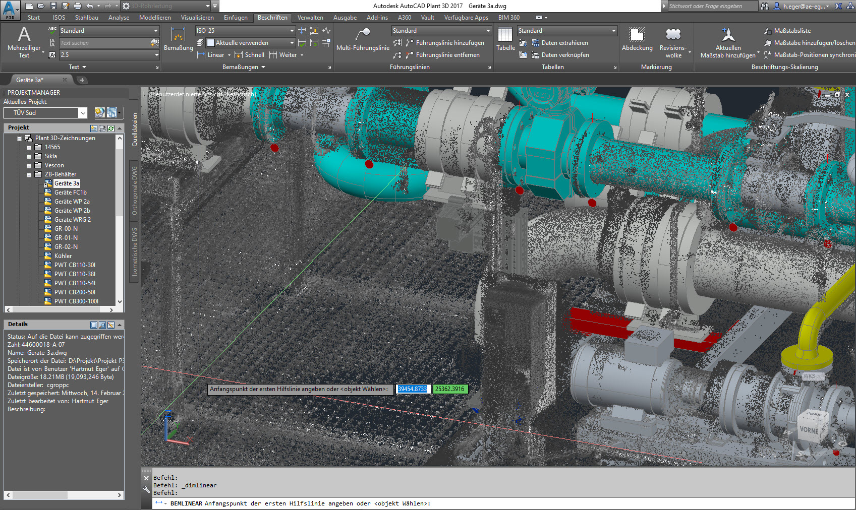 Solved Annotations Get Bugged When I Import Point Cloud
