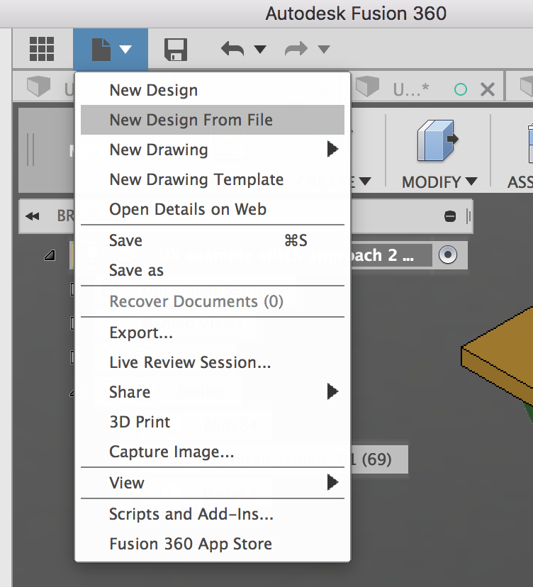 How do you open Fusion 360 Zip files created by someone else