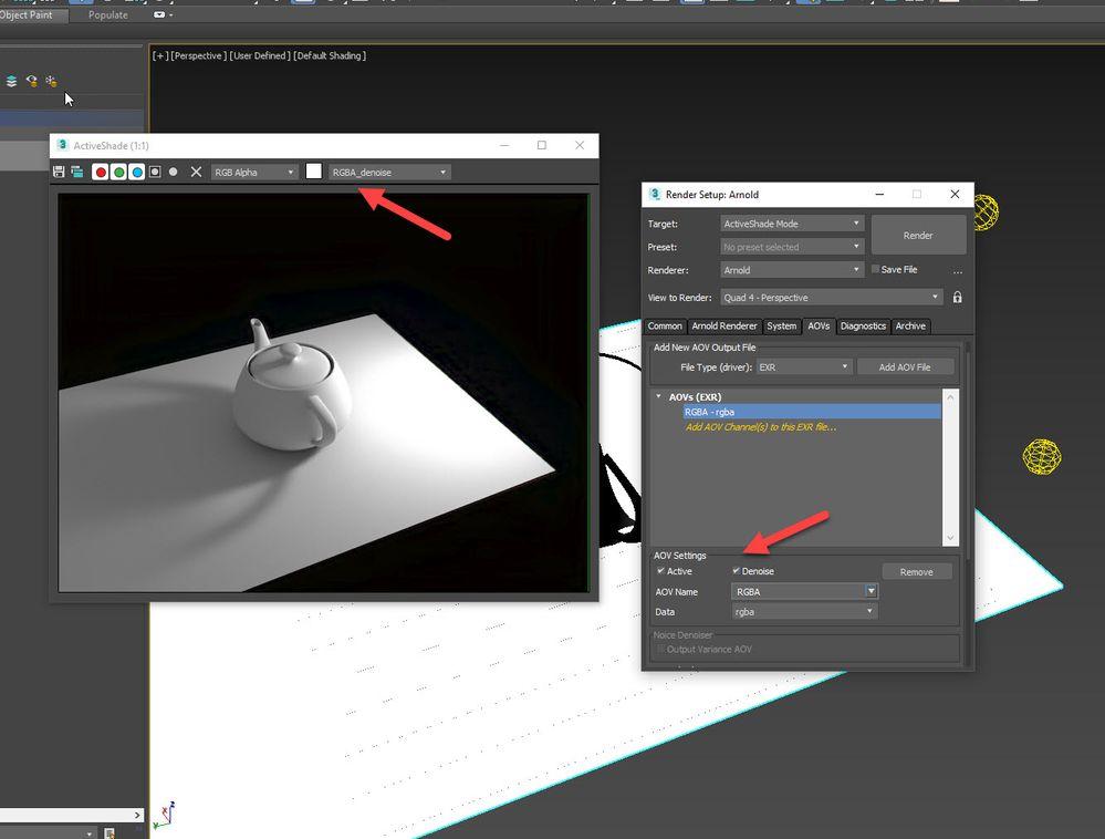 Optix denoiser problems - Autodesk Community- 3ds Max