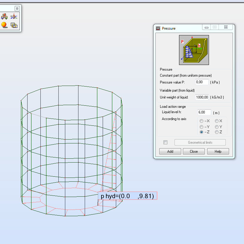Solved: Circular water tank - Autodesk Community- Robot Structural