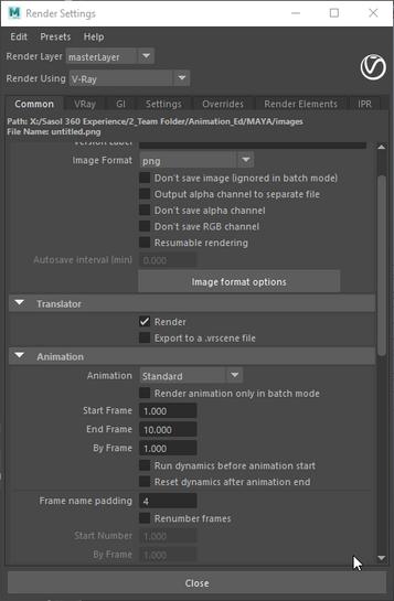 Solved: Batch Render with V-ray In Maya - Autodesk Community- Maya