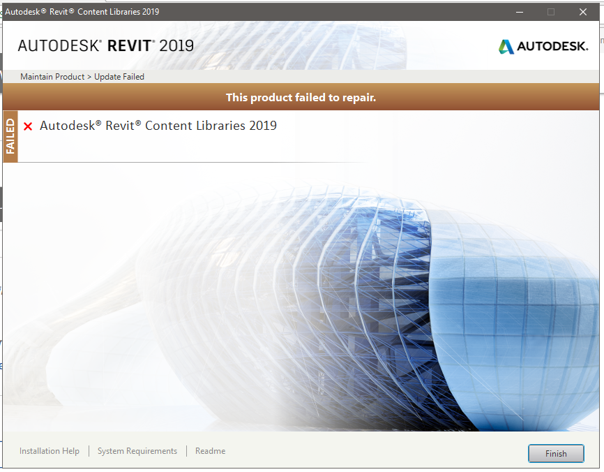 Unable To Update Revit Content Libraries 2019 Autodesk