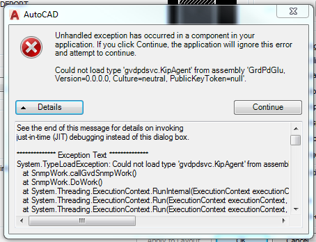 Solved: Unhandled Exception Error when plotting - Autodesk