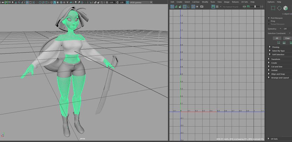 Solved: Zbrush to Maya UV problems - Autodesk Community- Maya