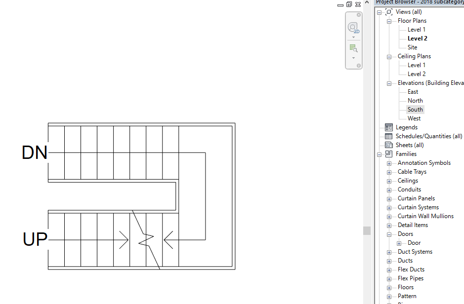 Solved: stairs wrong in plan view - Autodesk Community- Revit Products