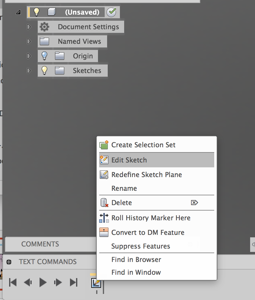 No Sketch Dimensions available ?? - Autodesk Community