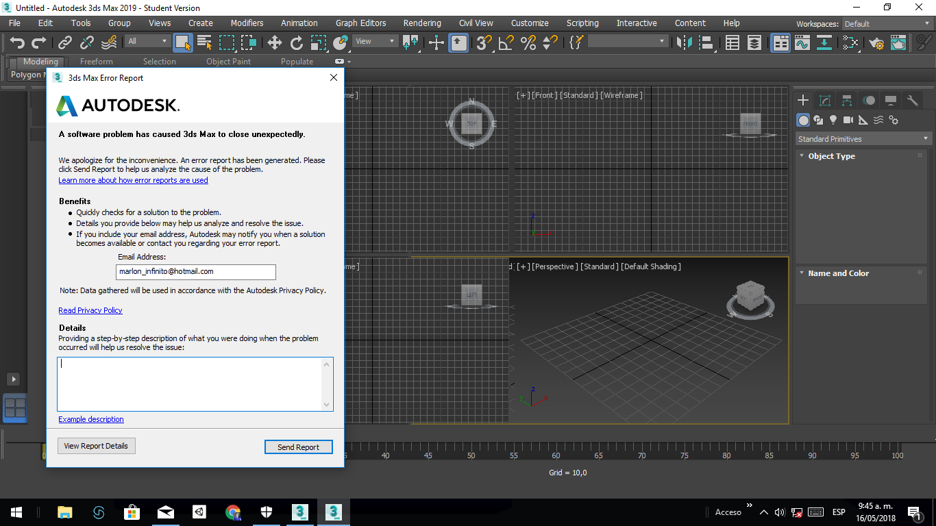 Solved: Autodesk 3D MAX 2019 closes after opening - Autodesk