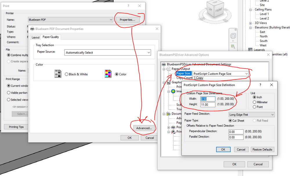 Solved: Can you install a PDF printer in Revit 2019