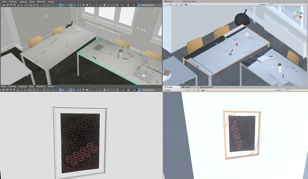 Solved: Export materials and UV mapping from Maya to Unity