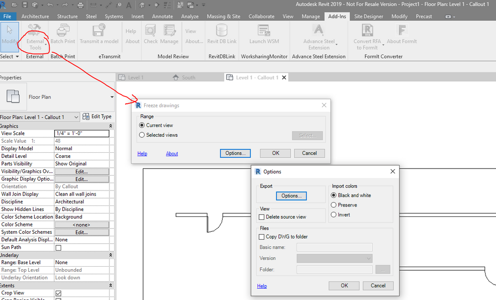 Solved: Revit 2018 Extensions - Freeze drawings - Page 2 - Autodesk