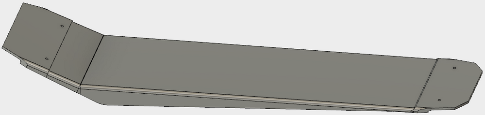Solved: Split a body with another body for a vacuum form mold