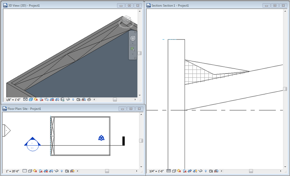 Creating Slopes On A Sloped Roof Autodesk Community