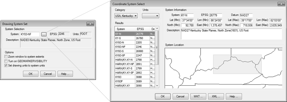 Solved: Autocad Map 3D 2016 geolocation problems - Autodesk ... on black kentucky map, funny kentucky map, cartoon kentucky map, print kentucky map, 3d kentucky flag, 3d kentucky outline, 3d kentucky poster, hd kentucky map,