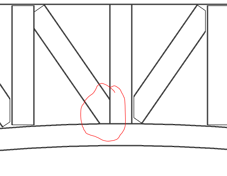 Solved: How to fix truss family joint connection for arc