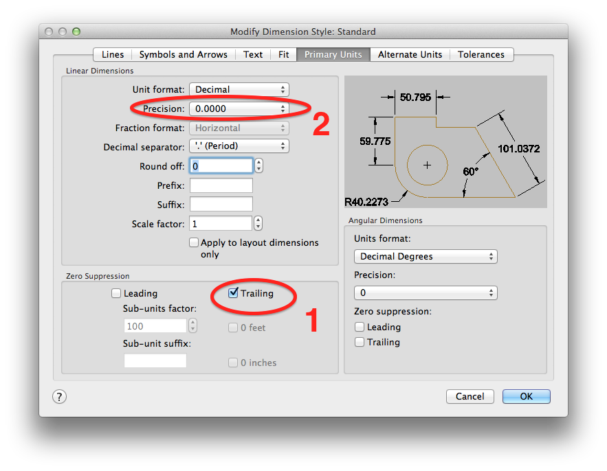 how to change units in autocad mechanical 2016