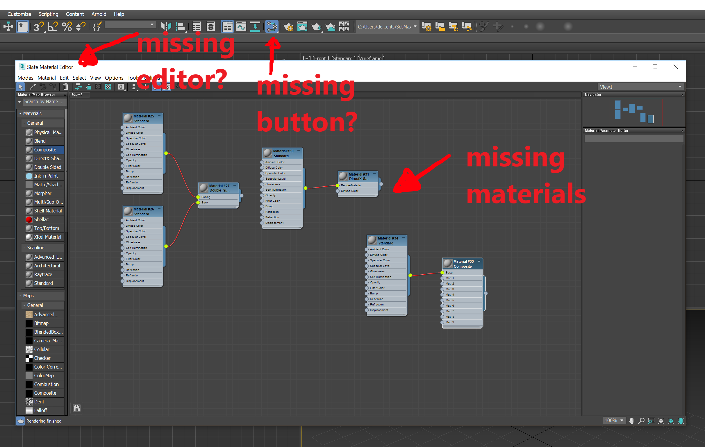 Solved: Scene Materials are Missing in Material/Map Browser 3dsmax