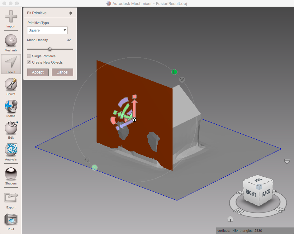 Solved: How to make curved surface smooth? - Autodesk Community- Netfabb