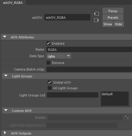 Solved: Naming An AOV Output File - Autodesk Community- Maya