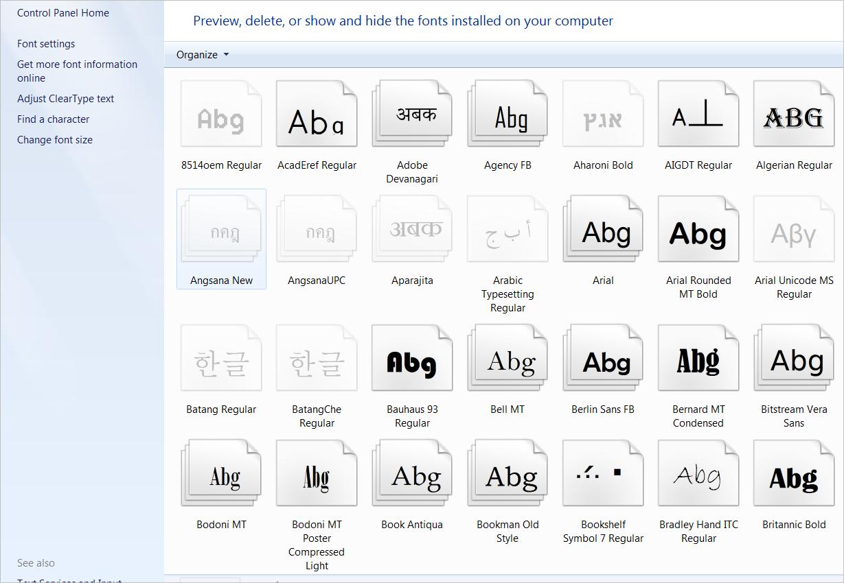 Font samples - Autodesk Community- AutoCAD
