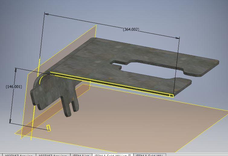 Solved: Sheet metal Bending Error - Autodesk Community- Inventor
