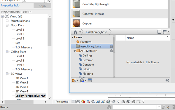 Material Library Assets Locked - Autodesk Community- Revit Products