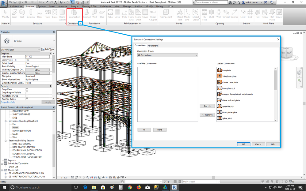 How can I add Steel Connections into Revit? - Autodesk