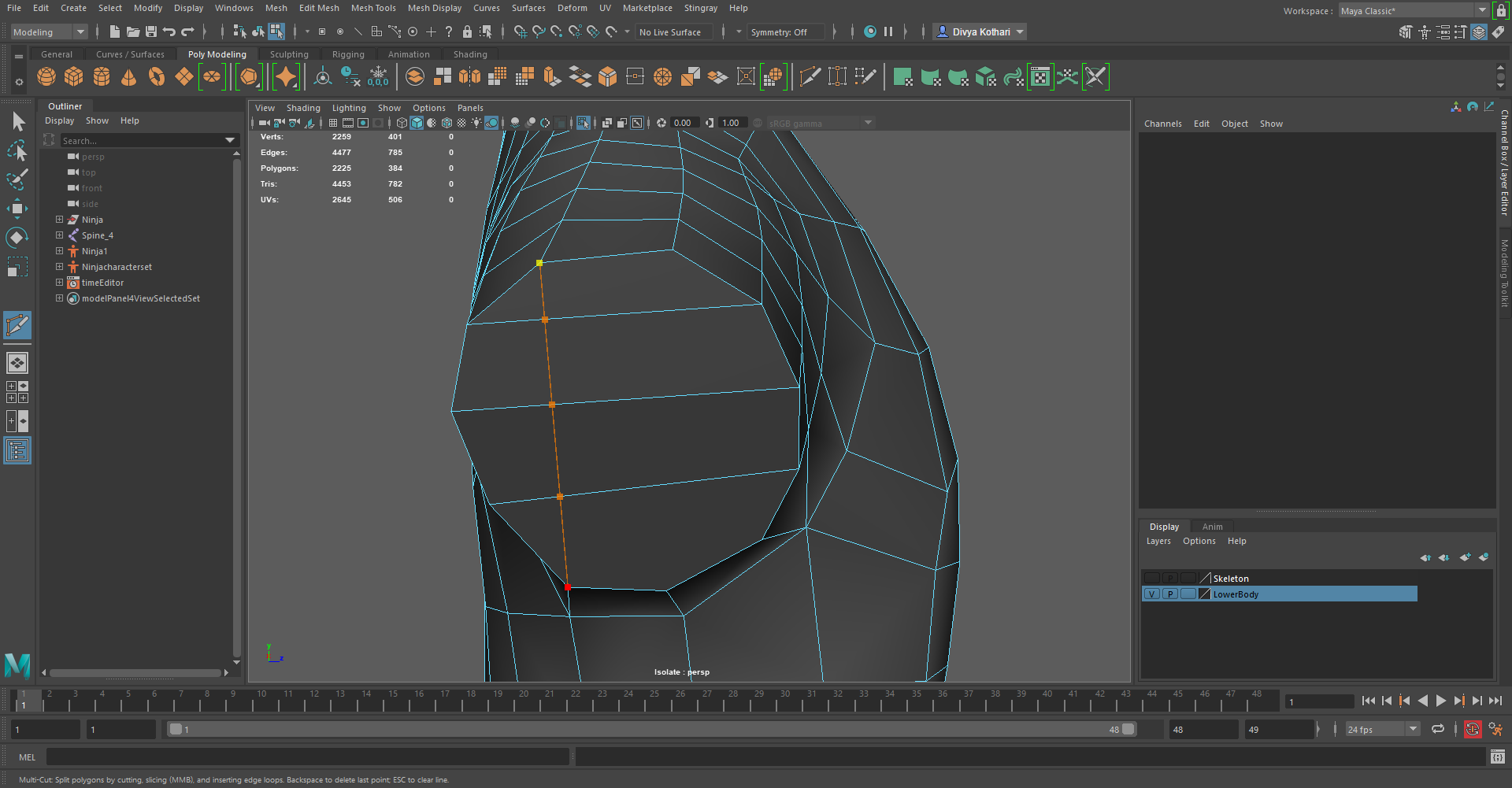 How to create an edge between two vertices? - Autodesk Community- Maya