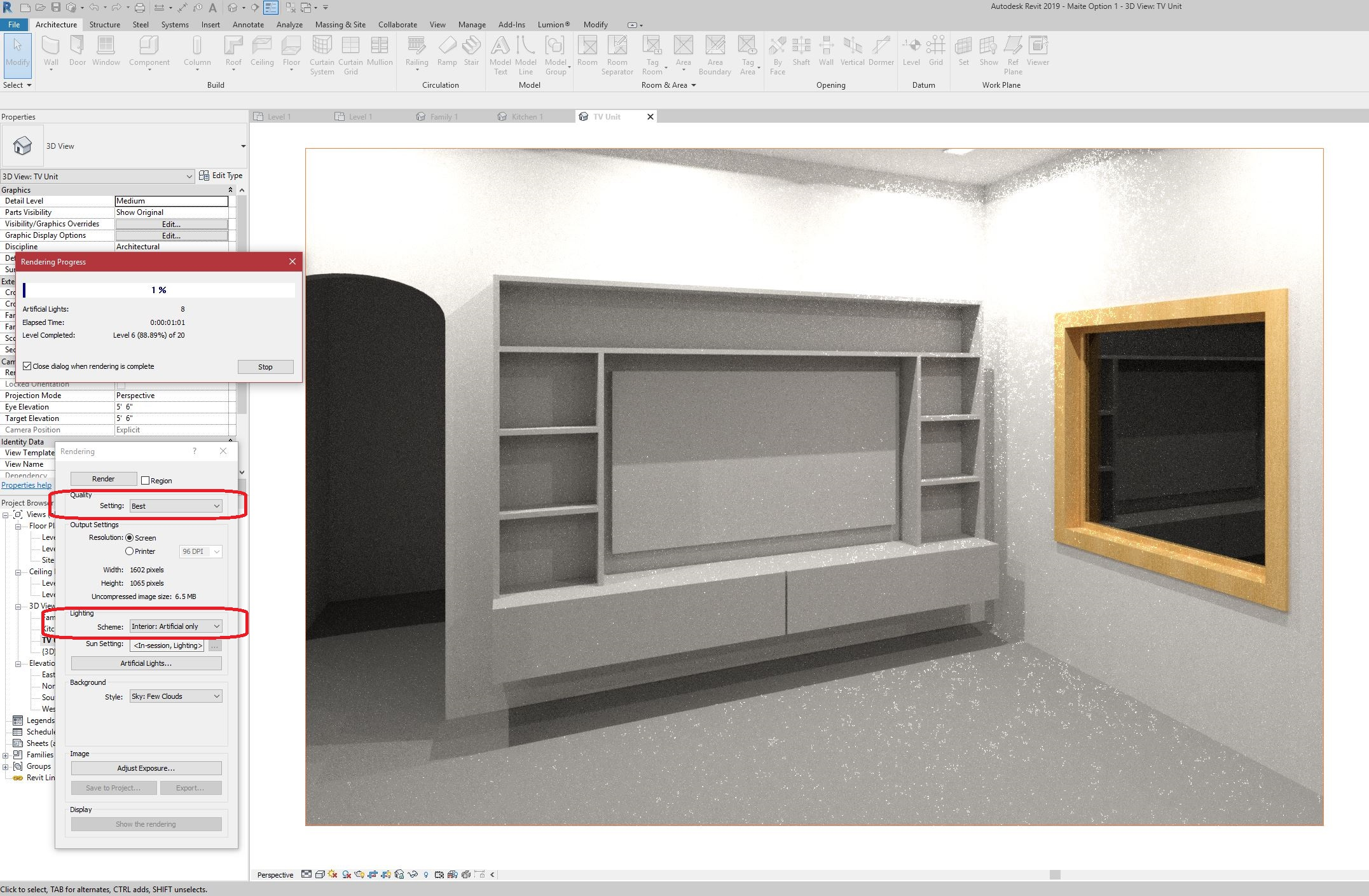 Solved: RENDER COMES OUT BLACK IN REVIT  PLEASE HELP!! - Autodesk