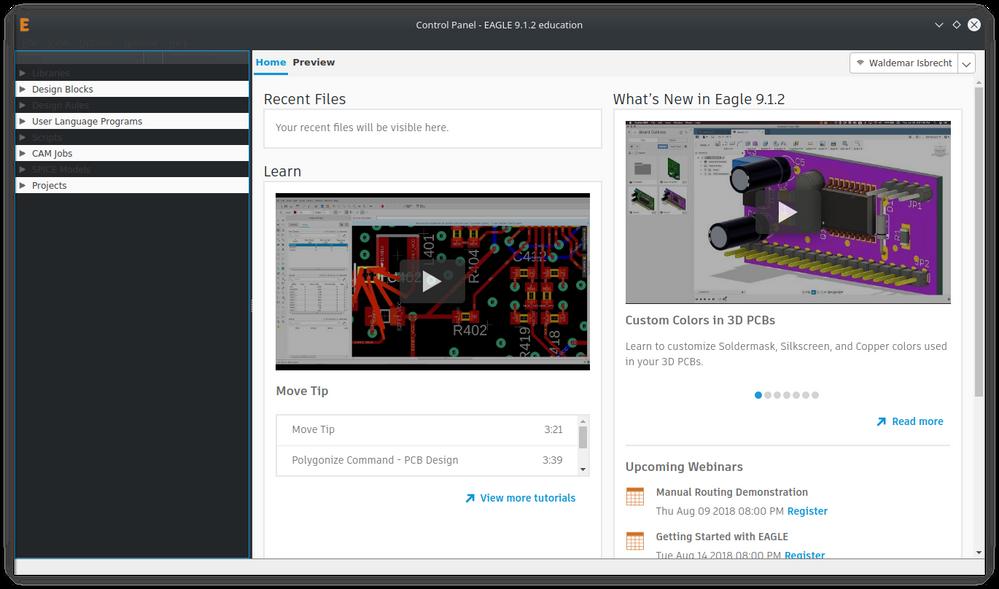 Kubuntu 18 04 KDE dark theme - Autodesk Community- EAGLE