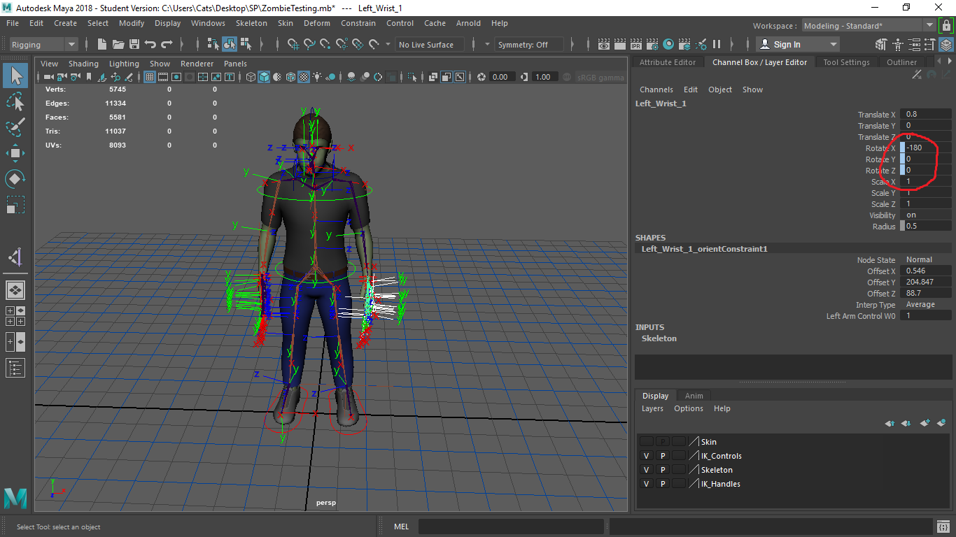 Axis flipping when moving joint - Autodesk Community- Maya