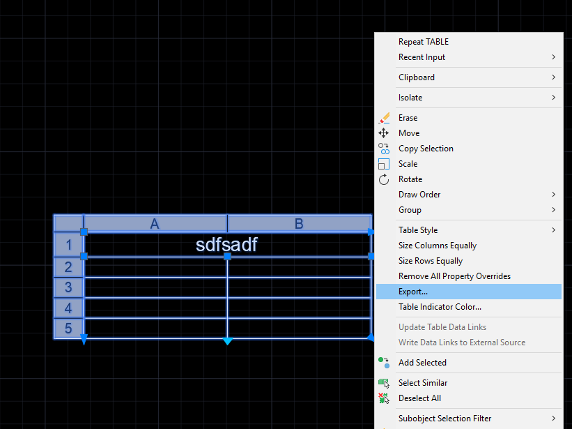 Exporting Tables to Excel in Batch - Autodesk Community- AutoCAD